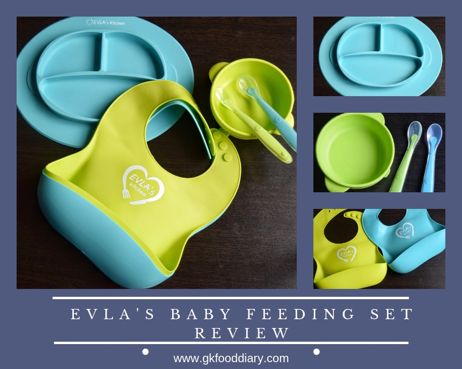 EVLA's Baby Feeding Set Review