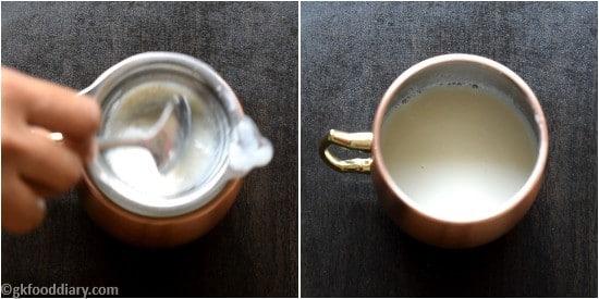 Palm sugar candy milk Recipe Step 4