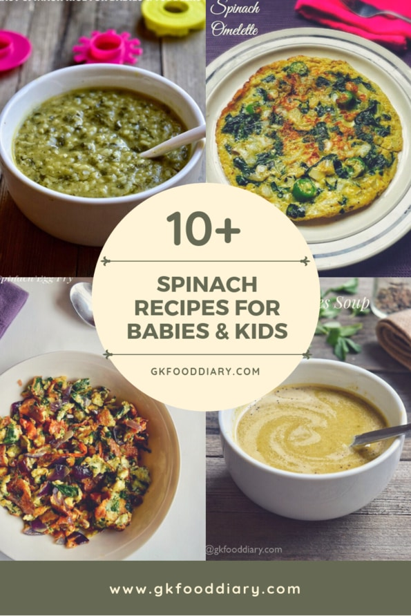 Spinach Recipes for Babies & Toddlers