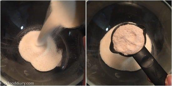 Suji Muffins Step 1