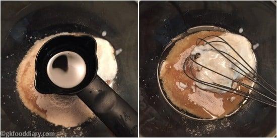 Suji Muffins Step 3