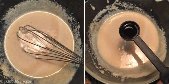 Suji Muffins Step 4