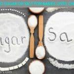Why No Salt or Sugar For babies below one year