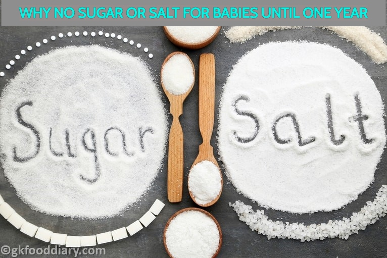 Why No Salt or Sugar For babies below one year