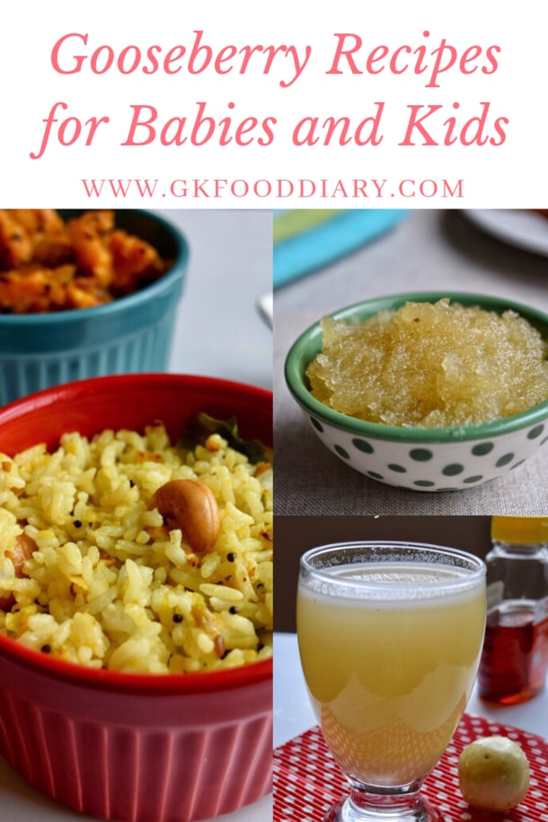 Gooseberry Recipes for Babies and Toddlers