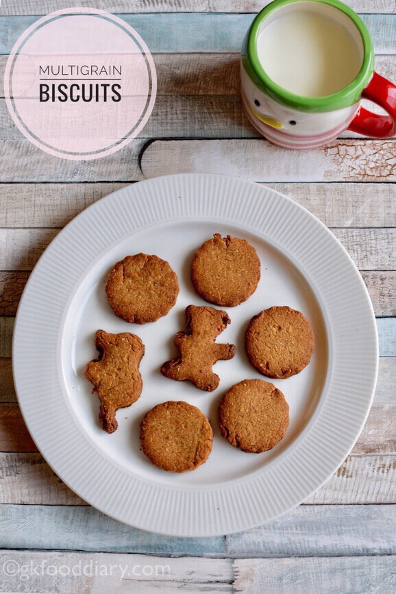Multigrain Atta Cookies Recipe