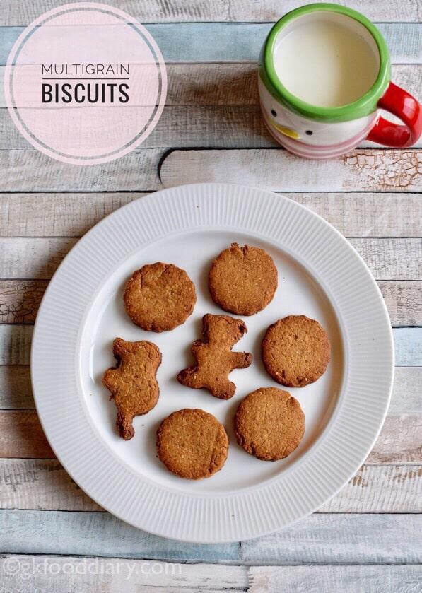 Multigrain Atta Cookies