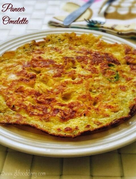 Paneer Omelette Recipe