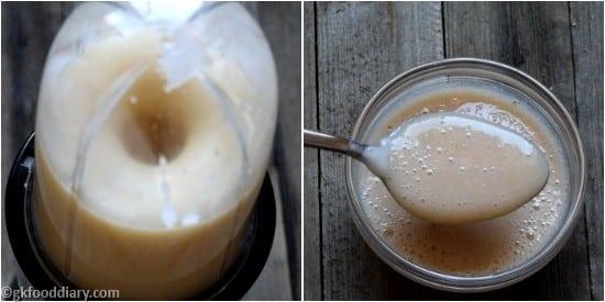 Rice Apple Banana Porridge Step 5