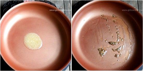 Spinach Paneer Puree Recipe Step 1