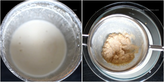 Whole Wheat Milk Porridge recipe Step 2