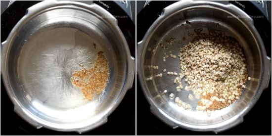 Barley Moong Dal Khichdi Recipe Step 2