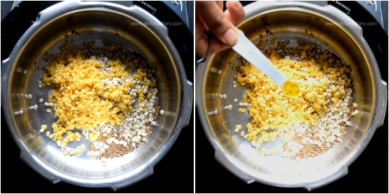 Barley Moong Dal Khichdi Recipe Step 3