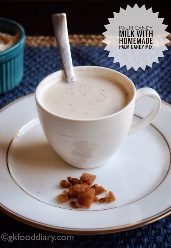 Homemade Palm Candy Milk Mix Powder Recipe