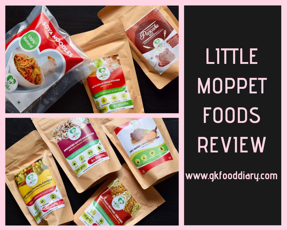 LITTLE MOPPET FOODS REVIEW