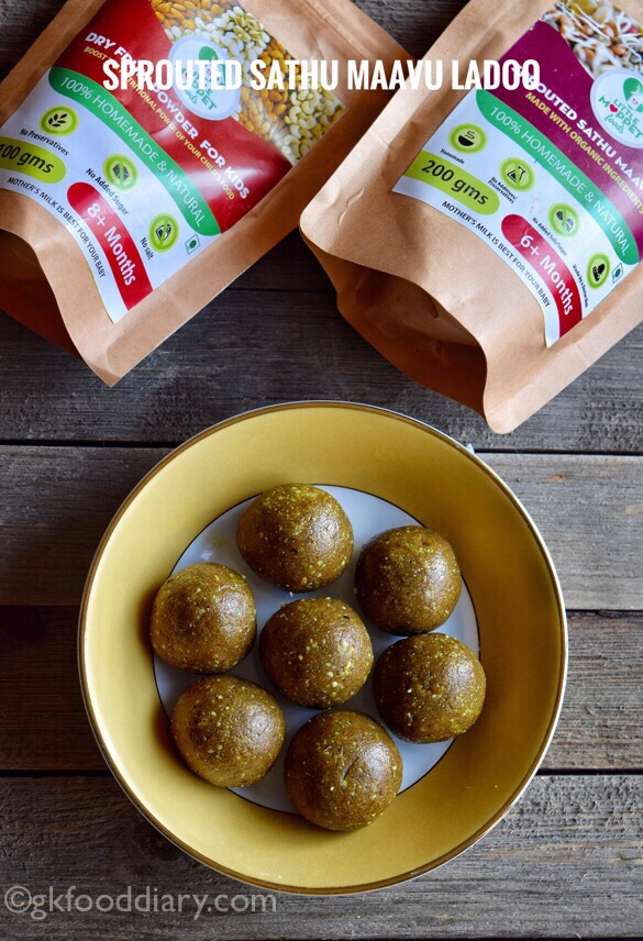 My Little Moppet Foods Review - Ladoo