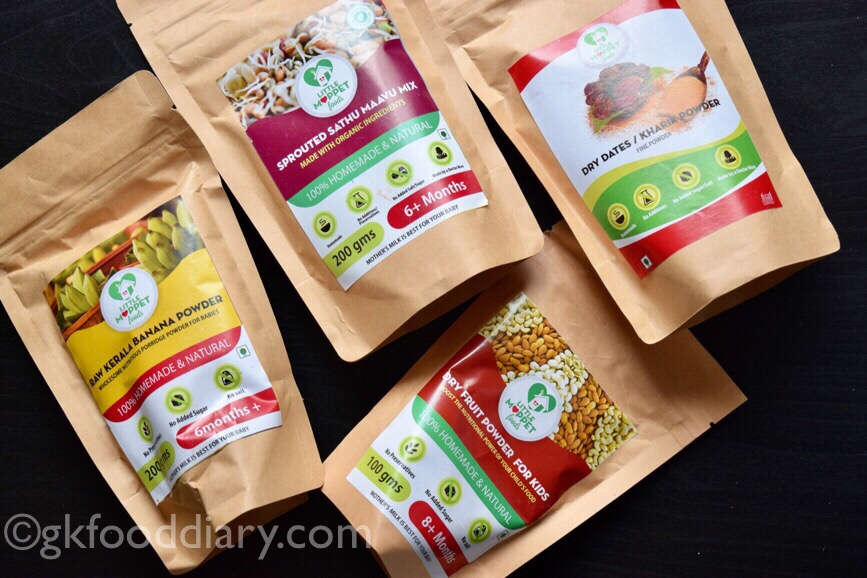My Little Moppet Review food
