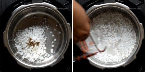 Sabudana Porridge Step 2