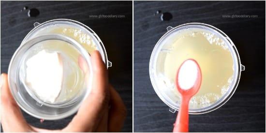 Sabudana Porridge Step 4
