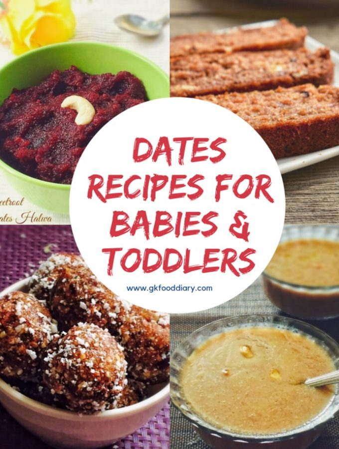 Dates Recipes For Babies and Kids