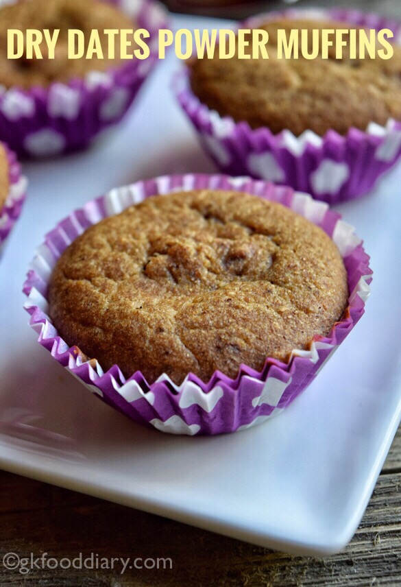 Dry Dates Powder Muffin