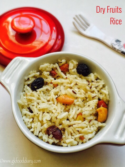 Dry Fruits Rice