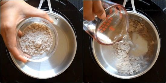 How to make Ragi Porridge step 1
