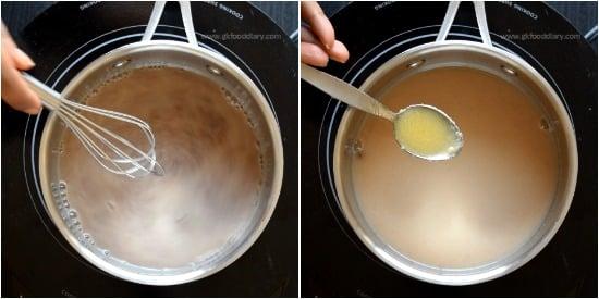 How to make Ragi Porridge step 2