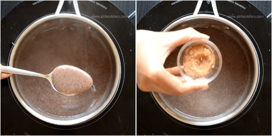 How to make Ragi Porridge step 3