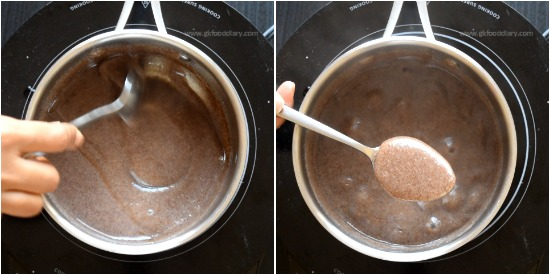 How to make Ragi Porridge step 4