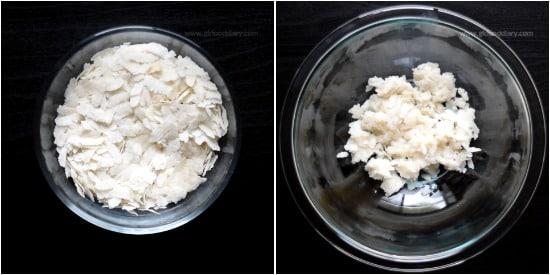 Instant Poha Porridge Step 1