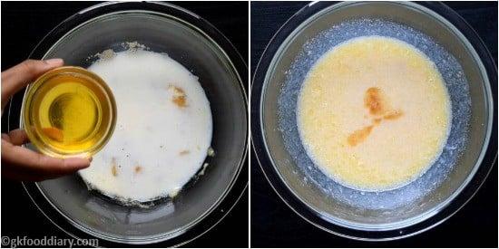 Oats Banana Cupcakes Recipe Step 3