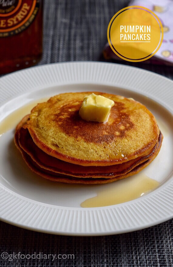 Pumpkin Pancakes Recipe for Toddlers and Kids 1