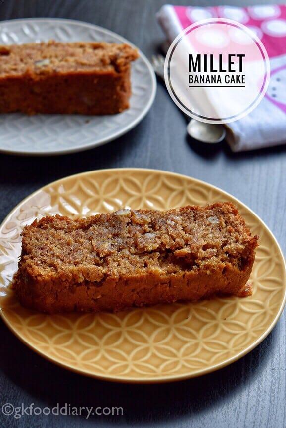 Millet Banana Cake Recipe