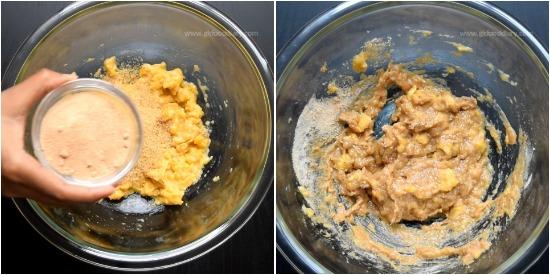 Millet Banana Cake - Step 2