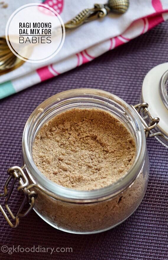 Moong Dal Ragi Powder For Babies
