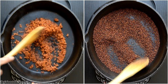 Ragi Moong Dal Powder - Step 3