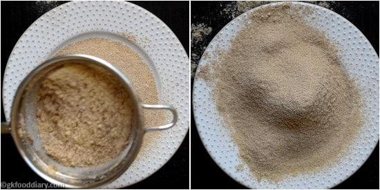 Ragi Moong Dal Powder - Step 8