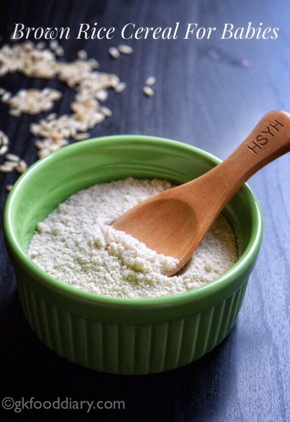 Brown Rice Cereal powder