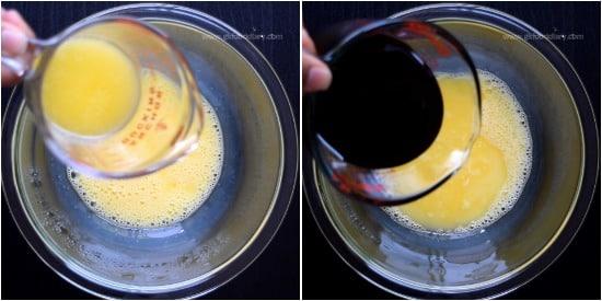 Palm Jaggery Cake - Step 2
