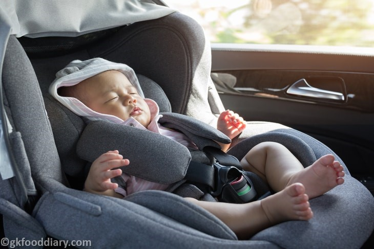Colic in Babies - Take Them For a Drive