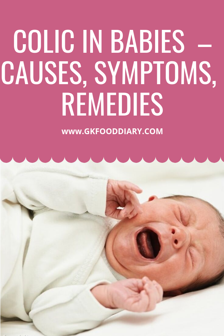 Colic in Babies – Causes, Symptoms & 10 Tips to soothe a colicky Baby