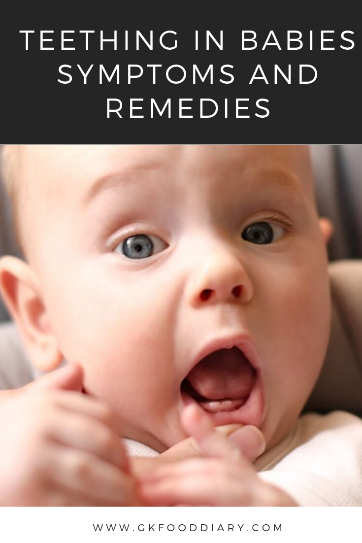 Teething in Babies -Symptoms and Remedies | How to soothe painful gums