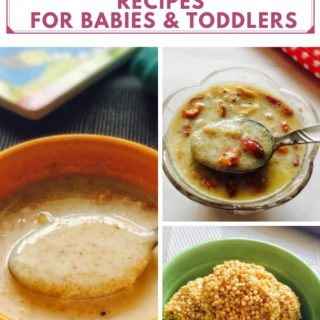 Amaranth Seeds Recipes For Babies and Toddlers