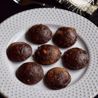 Ragi Banana Paniyaram recipe for babies, toddlers and kids | Ragi Banana Appe 1