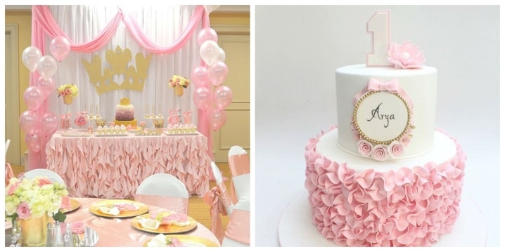 1. Princess Birthday Theme