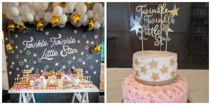 11. Twinkle Twinkle Little Star Birthday Theme