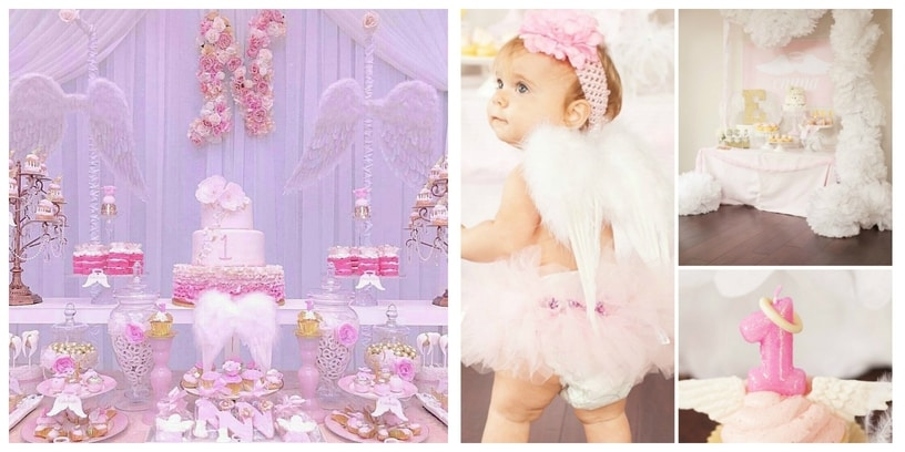 12. Angel birthday theme
