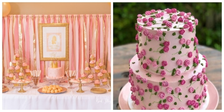 16. All Pink Party Theme