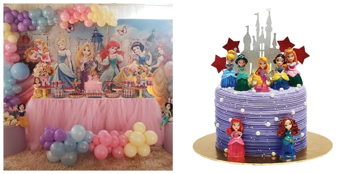 18. Disney Princess Party Theme